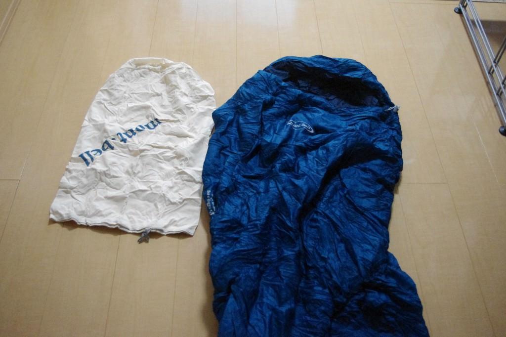モンベル 寝袋