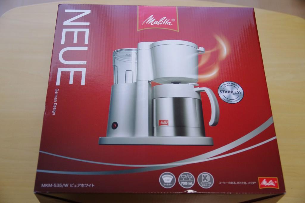 コーヒーメーカー メリタ ノイエ 箱