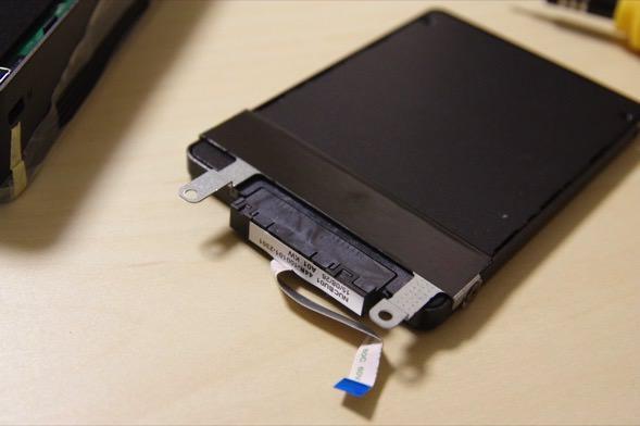 NC01U SSD 装着 ケーブル
