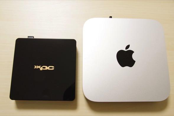 Mac miniとの比較