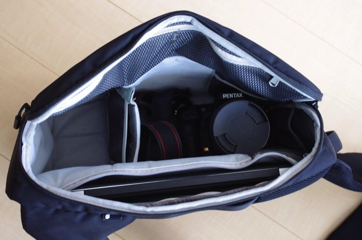 incase カメラ収納スリングバック カメラ mac 収納