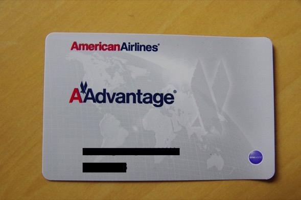 アメリカン航空 マイレージ